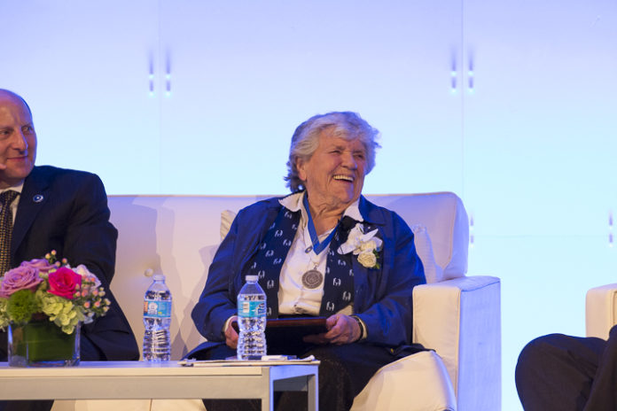 Kitty Ernst at the A.C.N.M. Foundation, Inc. 2017 Founders Hall of Fame event in Chicago